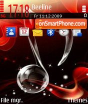 Music 5312 theme screenshot