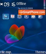 Butterfly 08 theme screenshot