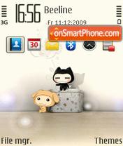 Shmily theme screenshot