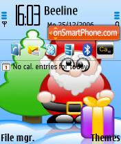 Скриншот темы Santa 01