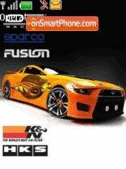 Mustang1 theme screenshot