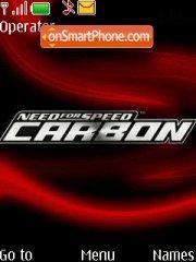 NFS Carbon theme screenshot