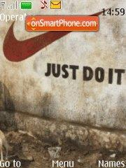 Nike es el tema de pantalla