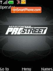 ProStreet tema screenshot