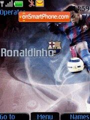 Ronaldinho tema screenshot