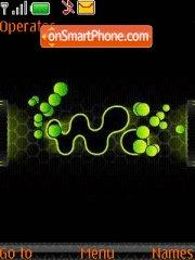 Walkman Gren theme screenshot