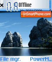 Blue Sky 04 es el tema de pantalla