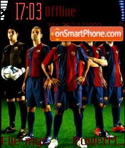 Barcelona Club theme screenshot