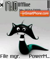 Black Cat 04 theme screenshot