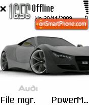 Audi 09 es el tema de pantalla