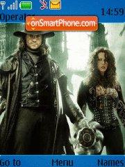 Van Helsing theme screenshot