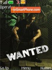 Wanted Indian Movie theme screenshot