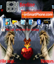 Unicorn theme screenshot