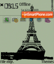 Скриншот темы Tower.