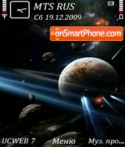 Space by Altvic theme screenshot