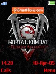 Mortal Kombat Deadly Alince theme screenshot