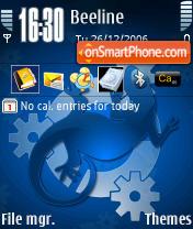 Скриншот темы Kubuntu