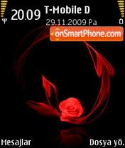 Desert_Rose es el tema de pantalla