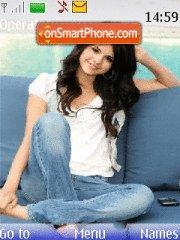 Selena Gomez theme screenshot
