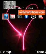 Pink Heart 07 theme screenshot