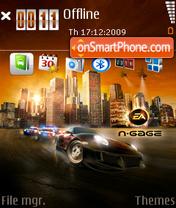 Nfs Undercover 10 es el tema de pantalla