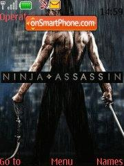 Ninja Assassin theme screenshot