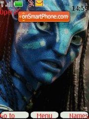 Avatar-Neytiri(2) theme screenshot
