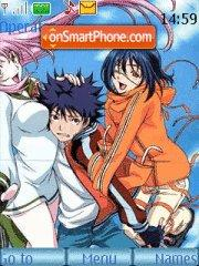 Air Gear Theme theme screenshot