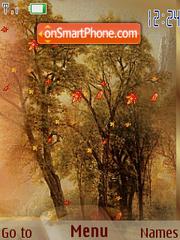 Autumn theme screenshot