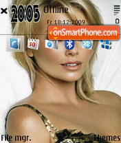 Charlize Theron 14 theme screenshot