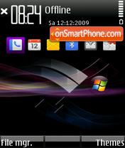 Скриншот темы Purple Vista MCC