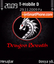 Dragon Breath 01 theme screenshot