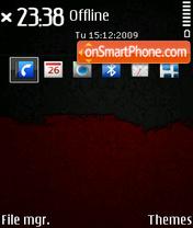 Скриншот темы Grunge 01