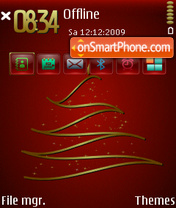 RedXmas theme screenshot