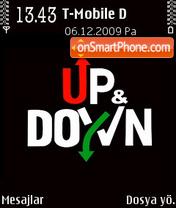 Up And Down es el tema de pantalla
