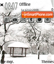 Winter 08 theme screenshot