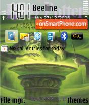 Harry Potter and Half-Blood Prince theme screenshot