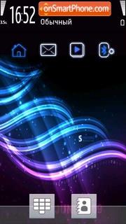 Aurora 04 theme screenshot