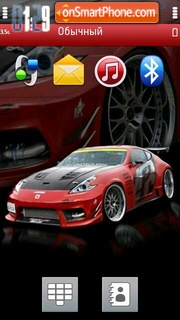 Скриншот темы Nissan 350z 10