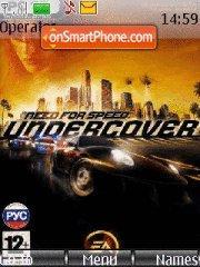 Need for Speed Undercover es el tema de pantalla