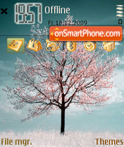 Autumn Tree 01 theme screenshot