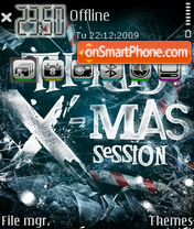 X-mas 03 theme screenshot