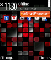 Mosaic 01 theme screenshot