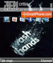Wash Your Hands theme screenshot