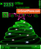 Xmastree theme screenshot