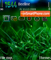 WIN7 Samsung Icons Sunny tema screenshot