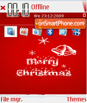 Merry Christmas 13 tema screenshot