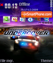 Nfs Cops theme screenshot