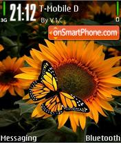 Sunflower 06 es el tema de pantalla