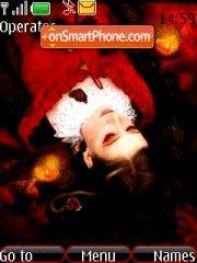 Girl in Red Theme-Screenshot